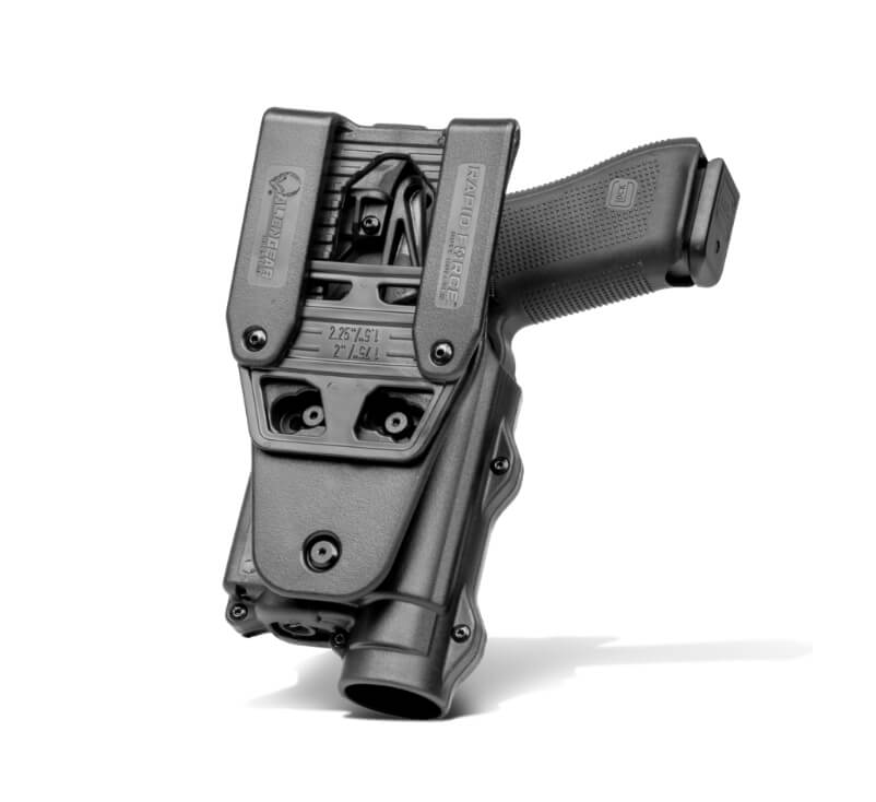 Rapid Force Holster Inside Back View