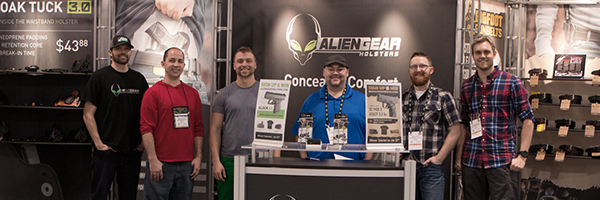 Alien Gear Holsters At SHOT Show 2016