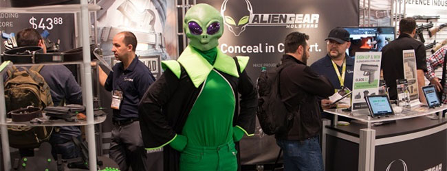 Alien Gear Holster at Shot Show 2018