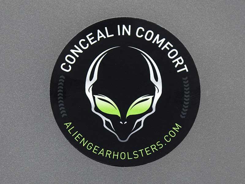 Alien Gear Holsters Round Sticker