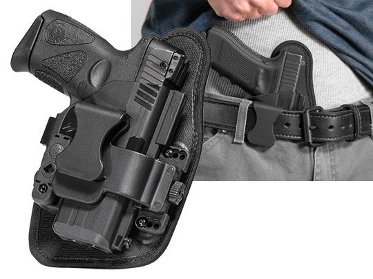 Springfield XD-E 3.3 inch barrel Alien Gear ShapeShift Appendix Carry Holster