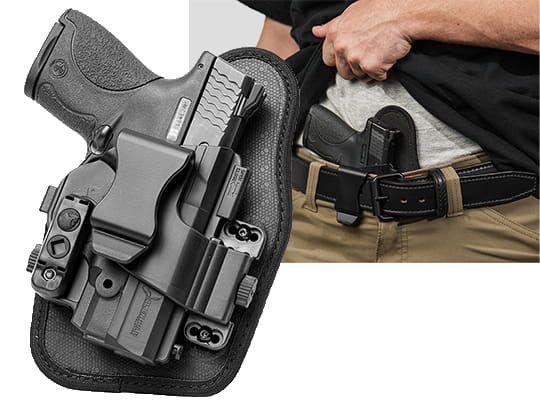S&W M&P9c Compact 3.5 inch barrel Alien Gear ShapeShift Appendix Carry Holster