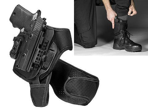 Springfield XD-E 3.3 inch barrel ShapeShift Ankle Holster
