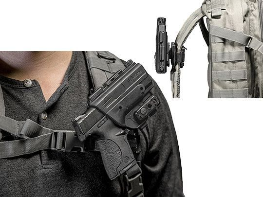 Springfield XD-E 3.3 inch barrel ShapeShift Backpack Holster