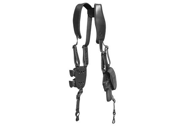 S&W M&P40c Compact 3.5 inch barrel ShapeShift Shoulder Holster