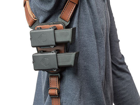 Springfield XD 4 inch barrel ShapeShift Shoulder Holster
