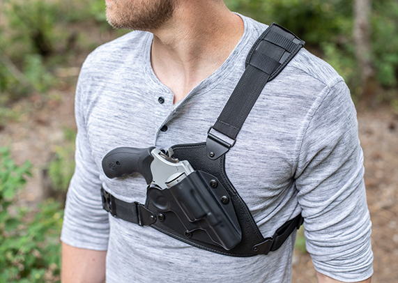 Ruger LCP Alien Gear Cloak Chest Holster