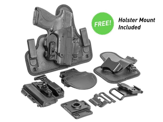 S&W M&P9c Compact 3.5 inch barrel ShapeShift Core Carry Pack