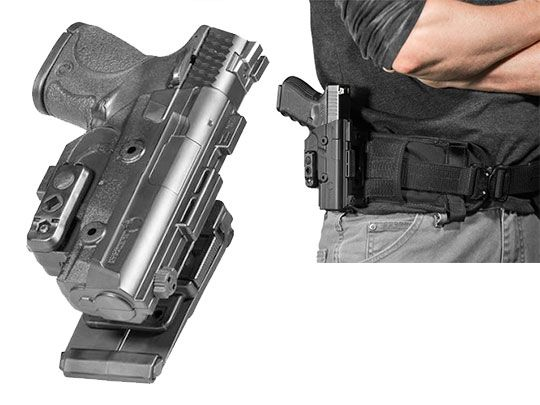 Walther PPQ 4 inch 9mm/.40 cal ShapeShift MOLLE Holster