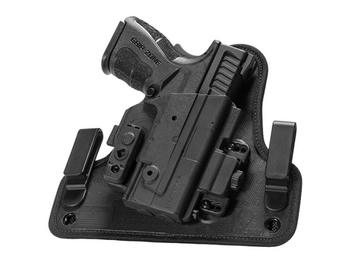 S&W M&P40c Compact 3.5 inch barrel Alien Gear ShapeShift 4.0 IWB Holster