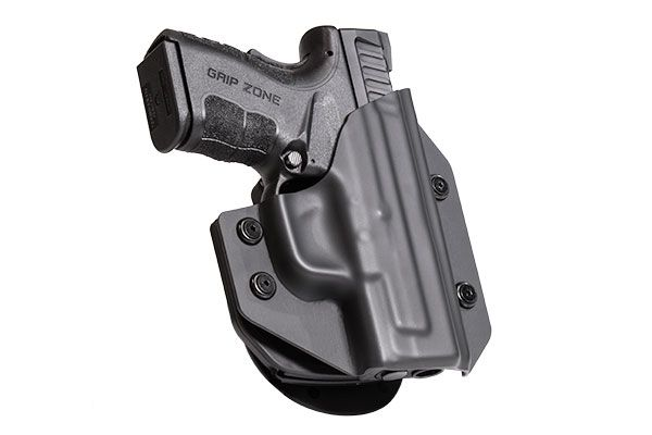 Springfield XD-E 3.3 inch barrel Alien Gear Cloak Mod OWB Holster (Outside the Waistband)