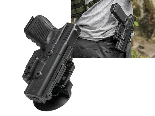 Glock - 23 (Gen 1-4) Alien Gear ShapeShift OWB Paddle Holster