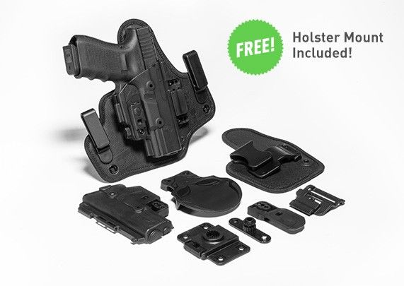 Walther PPQ 4 inch 9mm/.40 cal ShapeShift Core Carry Pack