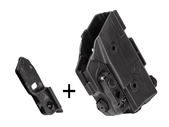 Springfield XD 4 inch barrel Shape Shift Shell