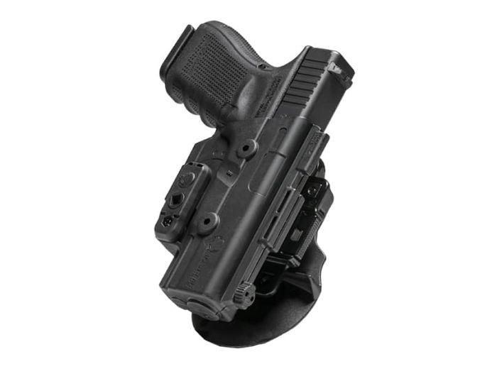S&W M&P Shield 9mm Alien Gear ShapeShift OWB Paddle Holster