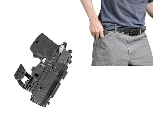 Walther PPQ 4 inch 9mm/.40 cal ShapeShift Pocket Holster
