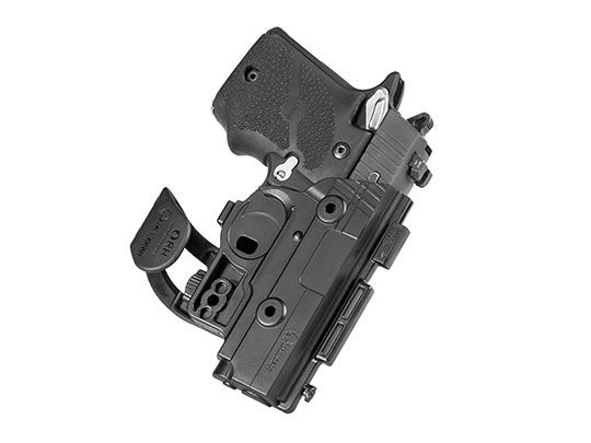 Springfield XD 4 inch barrel ShapeShift Pocket Holster
