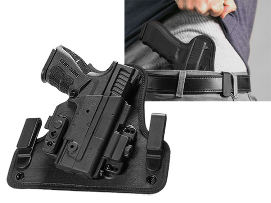 Springfield XD-E 3.3 inch barrel Alien Gear ShapeShift 4.0 IWB Holster