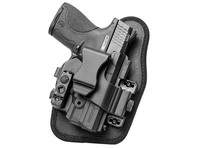 S&W M&P Shield .40 cal Alien Gear ShapeShift Appendix Carry Holster