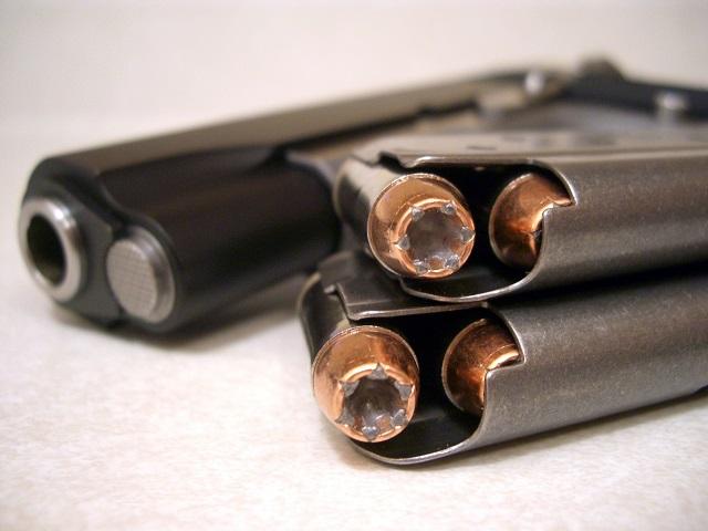 10mm handgun and ammo