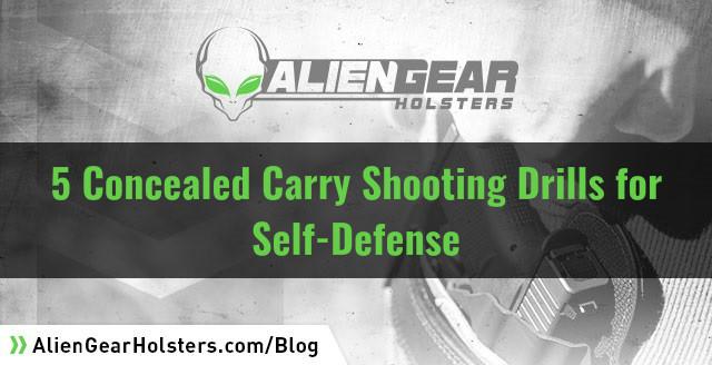 self defense shooting drills