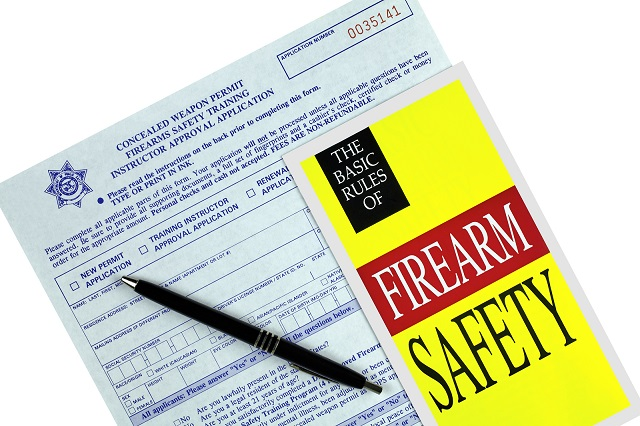 A Rhode Island concealed carry permit is necessary