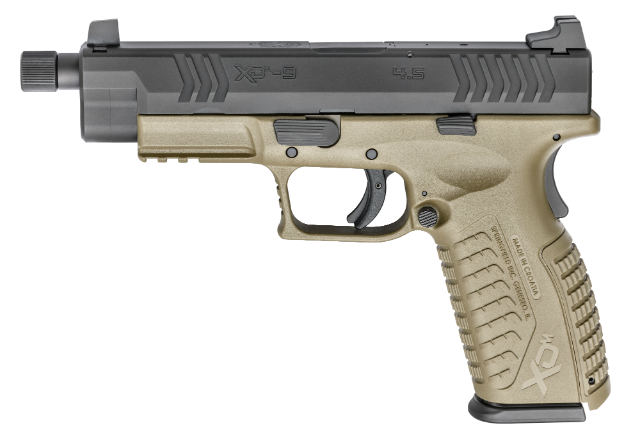 Springfield XDM 4.5 inch with threaded barrel