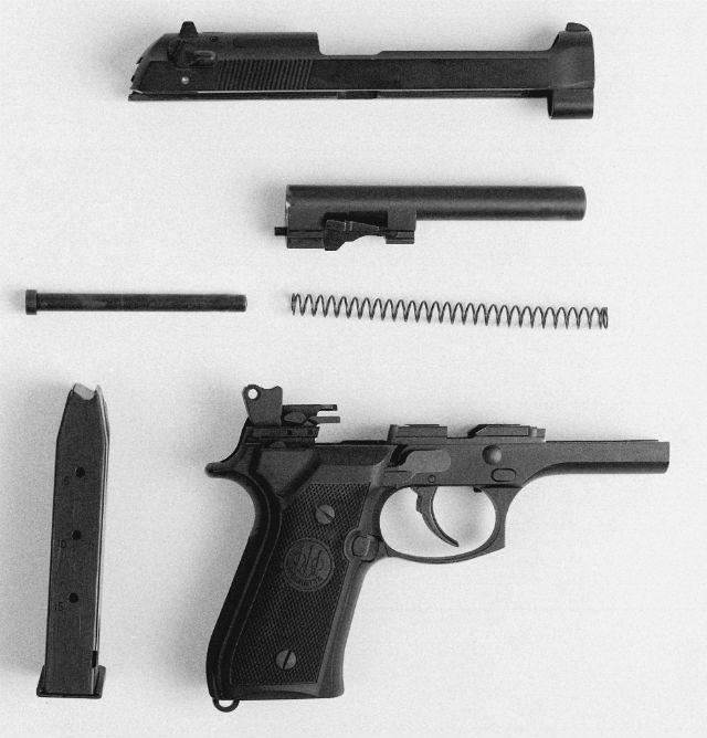 handgun anatomy