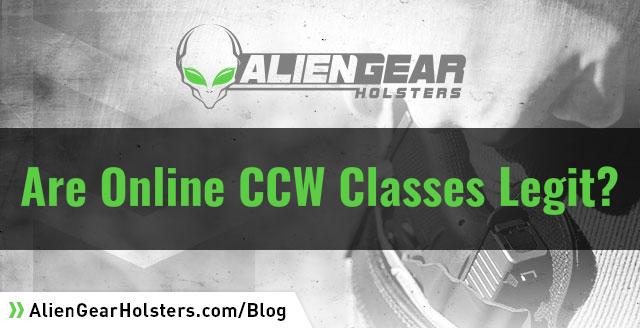 are online ccw classes legit