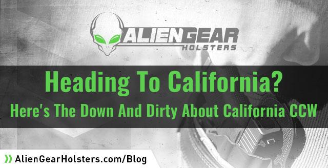 California CCW Info