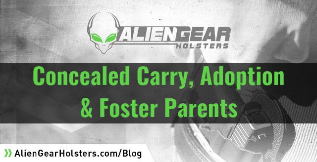 can foster parents own guns