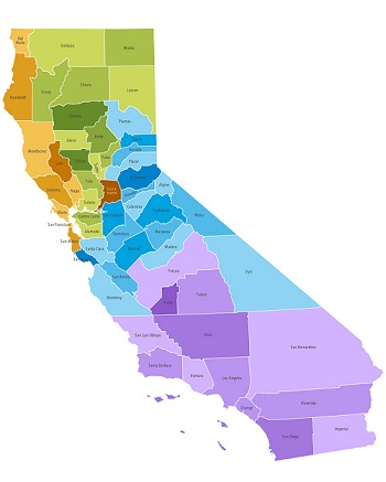 CCW county rules in California