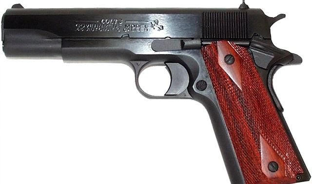 colt 1911 government series pistol