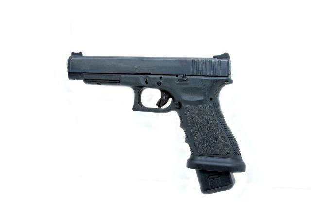 extended magazine pistol mod