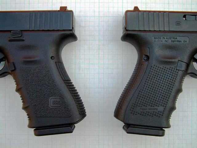 glock 17 and glock 19 specs