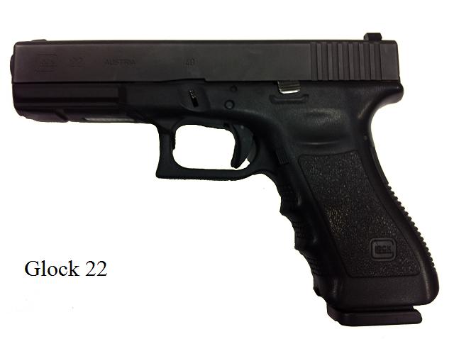 It is a Glock 22