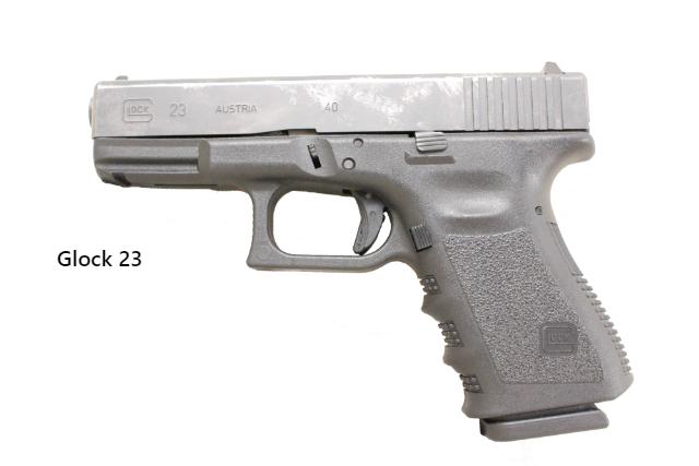 It is a Glock 23