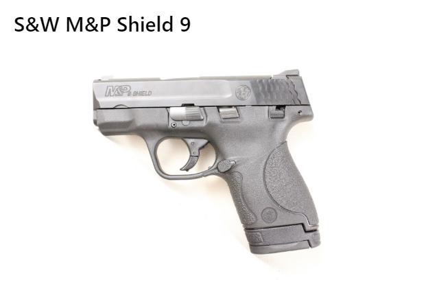 It is a S&W M&P Shield 9mm