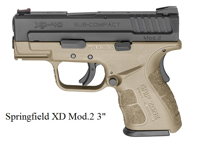 It is a Springfield XD Mod.2 3 inch