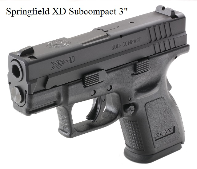 It is an SA XD 3 inch Subcompact