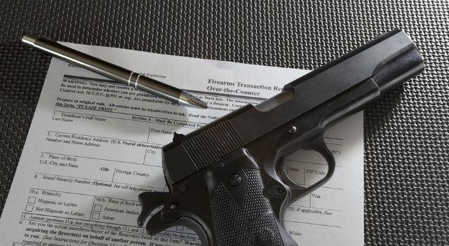 pistol background check