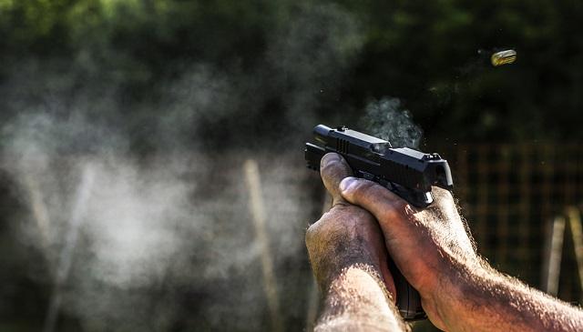 handgun recoil
