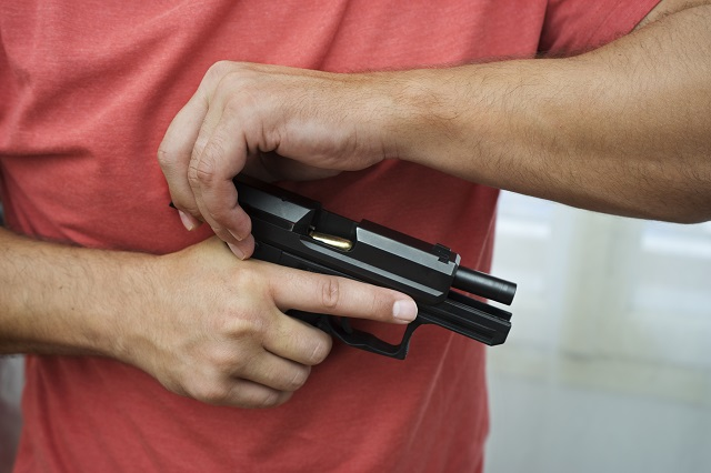 checking concealed carry stage