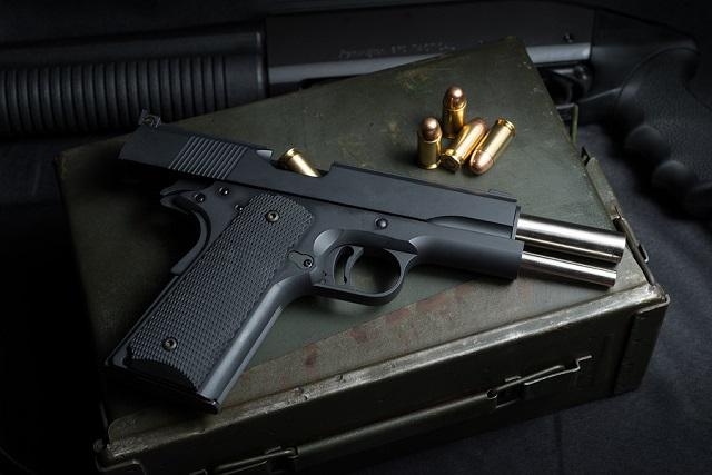 1911 handgun history