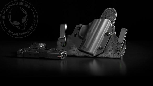 holster and gun