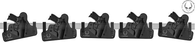 adjustable iwb gun holsters
