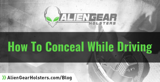 concealed carry while driving