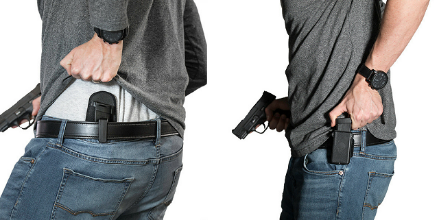 inside and outside the waistband mag carrier