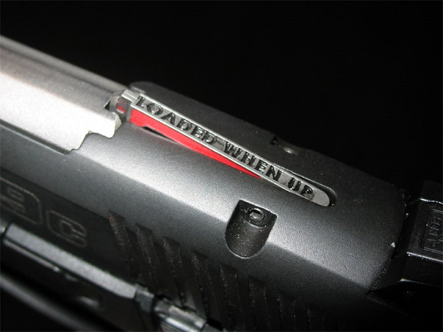 checking handgun status