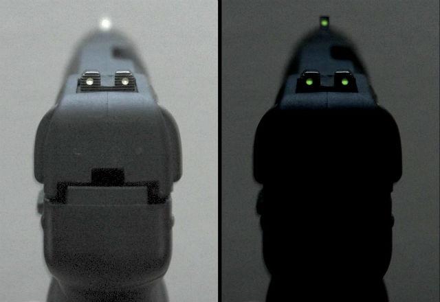 pistol night sights
